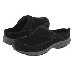 Easy Spirit Travelwind Black/Dark Grey Slip ons