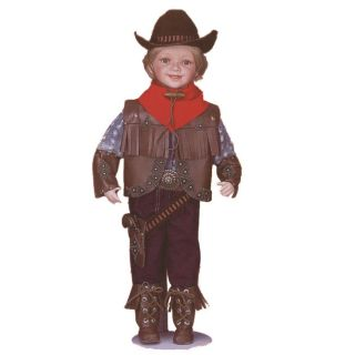SDAT Traditions 22 inch Collectible Cowboy Doll
