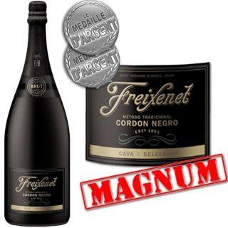 Cava Freixenet Cordon Negro Magnum   Achat / Vente PETILLANT MOUSSEUX