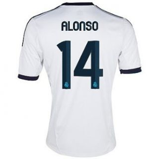 Adidas Alonso #14 Real Madrid Home Jersey 2012 13 YOUTH