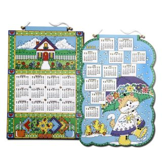 Welcome Home/ Playing in the Rain 2011 Felt Calendar Kits (Pack of 2