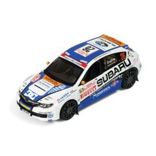 MODELE REDUIT MAQUETTE IXO 1/43 SUBARU Impreza WRX STI   14eme Rallye