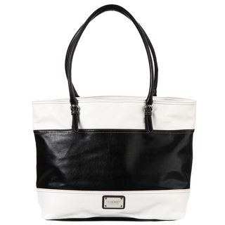 Nine West Shamie Large Colorblock Tote Bag