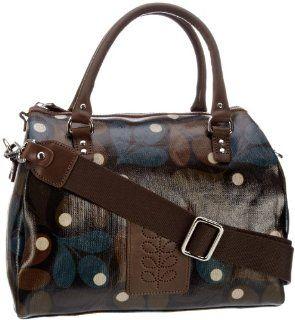 Orla Kiely Big Acorn Print Nancy Bag Evergreen Shoes