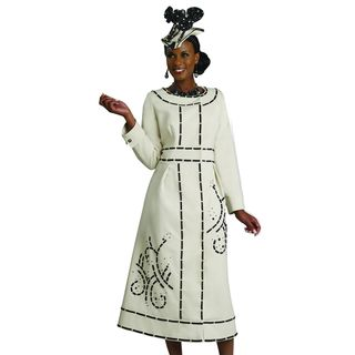 Lisa Rene Womens Embroidered Dress