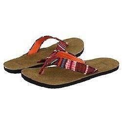Sanuk Fraidy Cat Pink Sandals