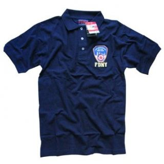FDNY POLO SHIRT, Officially Licensed Embroidered New York