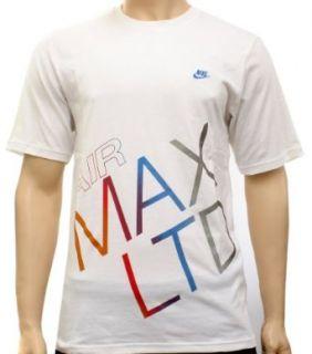 Nike Air Max Ltd White Mens T shirt