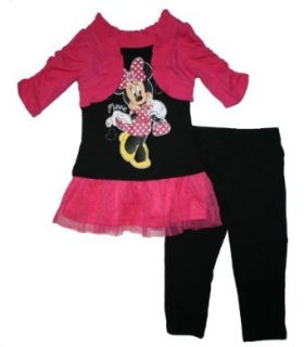 Minnie Mouse Dress with Legging Toddler Girls Set (5T