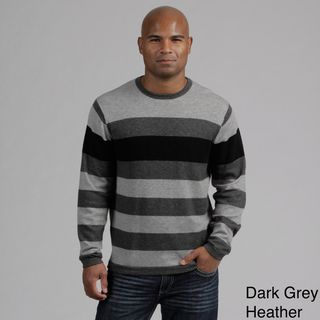 Weatherproof Mens Engineered Stripe Merino Wool/Cashmere Blend