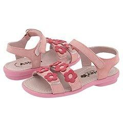 Aster Kids Seleane2 (Toddler) Pink/Fuchsia Nubuck Sandals