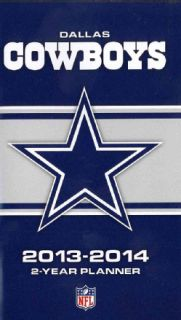 Dallas Cowboys NFL 2013 2014 2 Year Planner (Calendar)