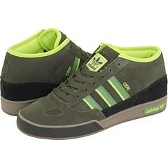 Adidas Originals Mens Ciero Mid Terrain/ Green Athletic Shoes