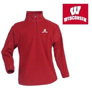 Wisconsin Badgers Youth Apparel   Frost Polar Fleece