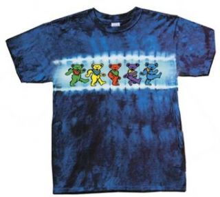 Grateful Dead Kids T shirt   Dancing Bears Tie Dye Tee