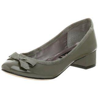 STEVEN by Steve Madden Womens Lunette Pump,Grey,5 M Shoes