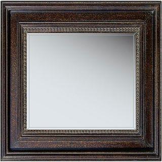 Monterey 31 inch Brown Framed Mirror