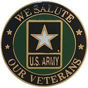 Metal Lapel Pin   U.S. Army Pins   Army Logo and Emblems