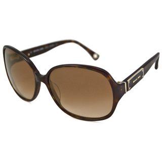 Michael Kors Womens MKS680 Captiva Rectangular Sunglasses