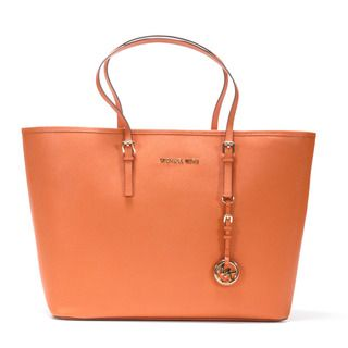 MICHAEL Michael Kors Jet Set Medium Leather Travel Tote
