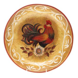 International Golden Rooster 13 inch Pasta Bowl