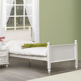 Fantasia White Full Bed