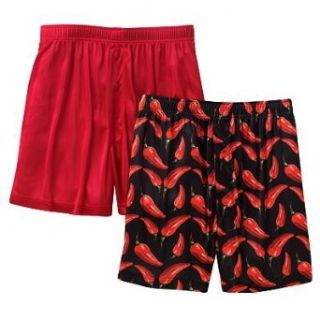 Croft & Barrow Mens Microfiber Knit Boxers 2 Pack
