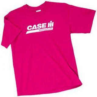 Logo Girls Tee Heliconia Pink LG Clothing