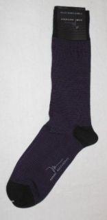 Marc Anthony Mens Premium Combed Cotton Sock (Purple