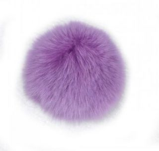 Rex Rabbit Fur Ball Use for Mobile Strap Coppia Keychain