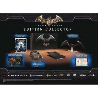 BATMAN ARKHAM ASYLUM COLLECTOR / Jeu console PS3   Achat / Vente
