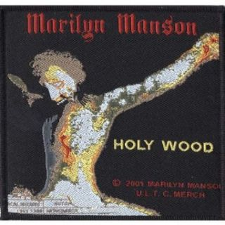 Marilyn Manson   Holy Wood Patch Clothing