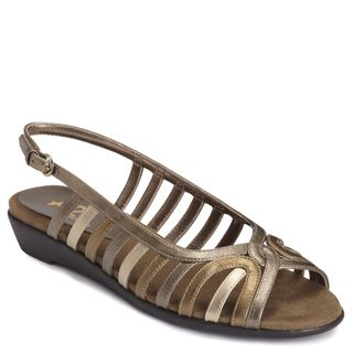 A2 by Aerosoles Womens Charismatic Gold Sandals
