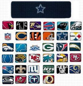 Headband / Sweatband with NFL Team Logo