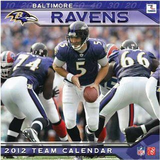 Turner Baltimore Ravens 2012 12 x12 Wall Calendar Sports