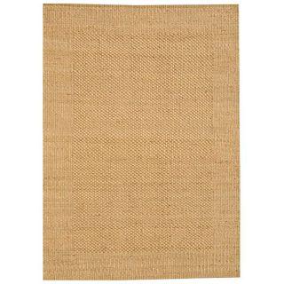 Hand woven Gold Jute Rug (8 x 11)