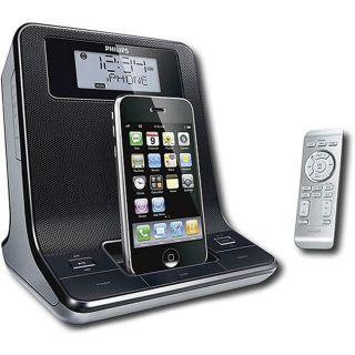 Philips DC320/37 Digital Dual Alarm Clock Radio iPod Dock