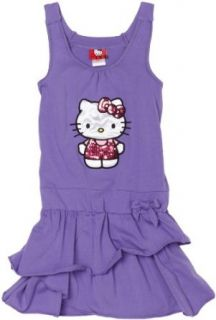 Hello Kitty Girls 7 16 Purple Dress, Dahlia Purple, 12/14
