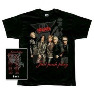 Aerosmith   Just Push Play T Shirt   Large Clothing