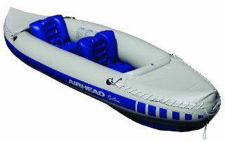 Kwik Tek Airhead 2 Person Roatan Inflatable Kayak Sports