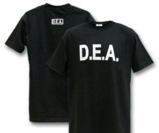 Black Law Enforcement DEA T Shirt Clothing