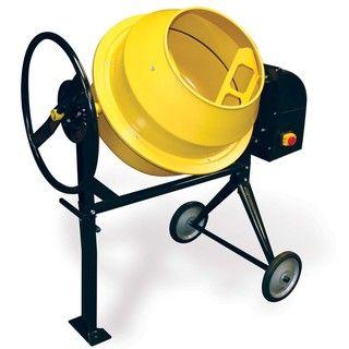 Buffalo Tools 3.5 cubic foot Cement Mixer