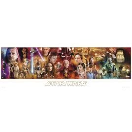 Star Wars   Grand Poster   53 x 158 cm   Poster   Affiche Star Wars