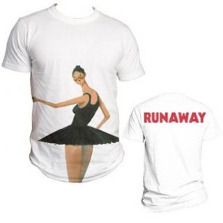 Kanye West   Ballerina Mens T Shirt In White Clothing