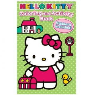 Hello Kitty Coloring and Activity Book with Crayons Party