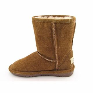 BEARPAW Youth Kids Girlss Emma Brown Boots (Size 13)