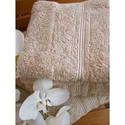 Beige Premium Hygro Cotton 18 piece Bath Towel Set