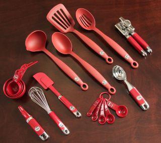 Kitchen Aid 11 piece Red Kitchen Tool Set