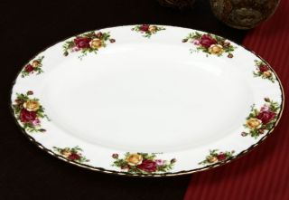 Royal Albert Old Country Rose 13 inch Platter