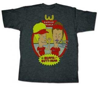 Beavis and Butt Head Burger World T shirt (X Large